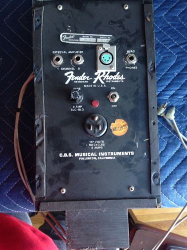 Fender Rhodes Suitcase Power Supply FOR PARTS