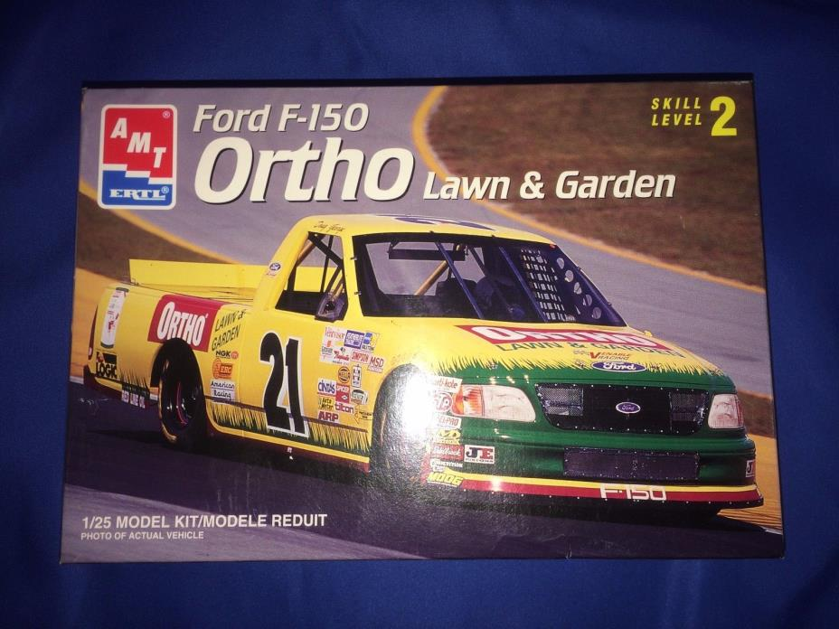 AMT ERTL Ford F-150 Ortho Lawn & Garden Race Truck~Open Box~Sealed Parts~
