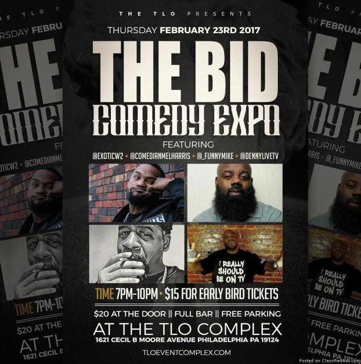 TLO THE BID COMEDY EXPO