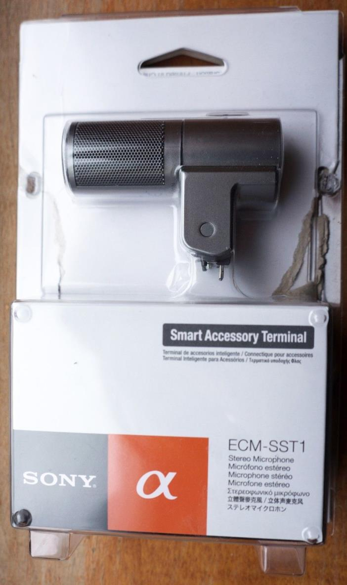 SONY Stereo Mic. ECM-SST1 for Sony Alpha NEX / ILC Serie, NEW !!!