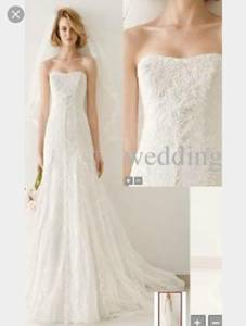 Melissa sweet wedding dress size 4 (Converse)