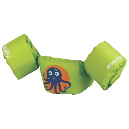 Kids Inflatable Life Jacket Puddle Jumper Coast Guard Approved Green Octopus