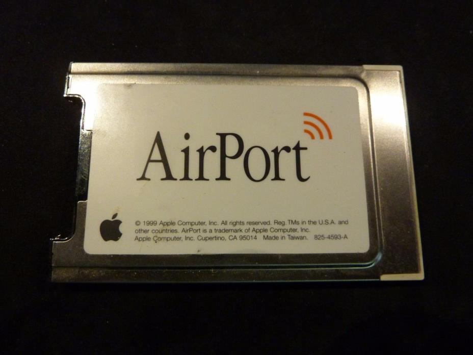 Genuine Apple AirPort WiFi Card 802.11b G3 G4 630-2883/C for Mac / iMac / iBook