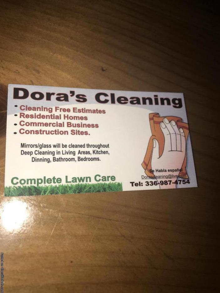 doras cleaning limpieza