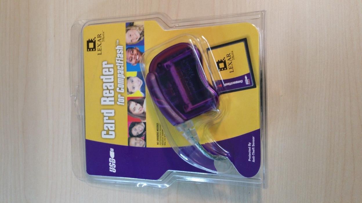 Lexar Compact Flash Card CF Card Reader