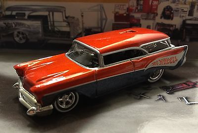 HOT WHEELS 1957 CHEVROLET NOMAD REAR ENGINE DRAGSTER