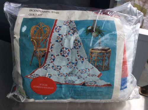 Quilt Kit Bicentennial Star Stearns & Foster Company