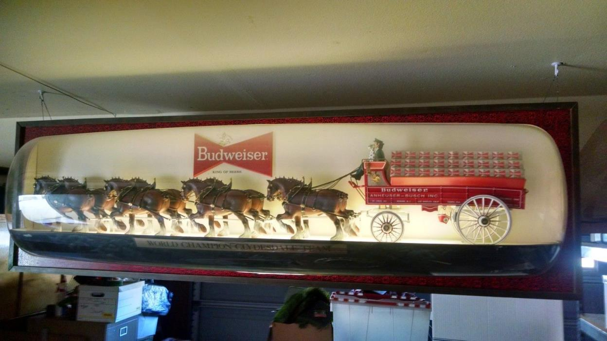 Budweiser Clydesdale Horse Light For Sale Classifieds