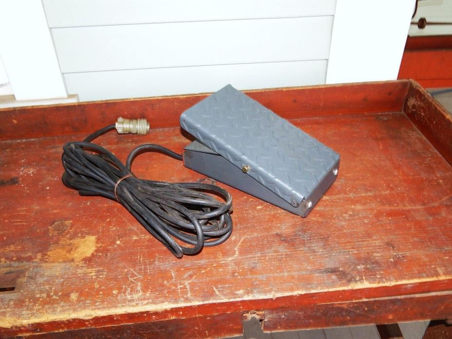 N.O.S. LINCOLN TIG WELDER AMPTROL FOOT REMOTE CURRENT CONTROL