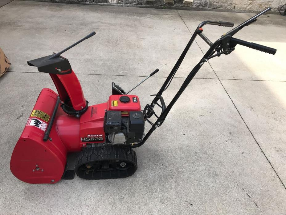 Used Honda HS622 Snowblower 4.9hp 2-Stage Track Drive 24