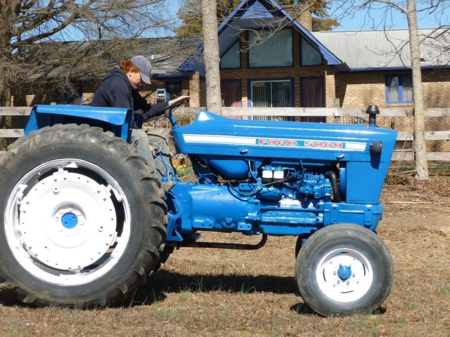 Ford 5000 Diesel Farm Tractor