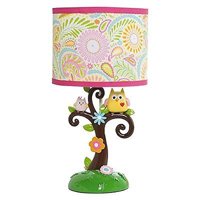 Lambs Home Kitchen Features Ivy Dena Happi Tree Lamp with Shade and Bulb
