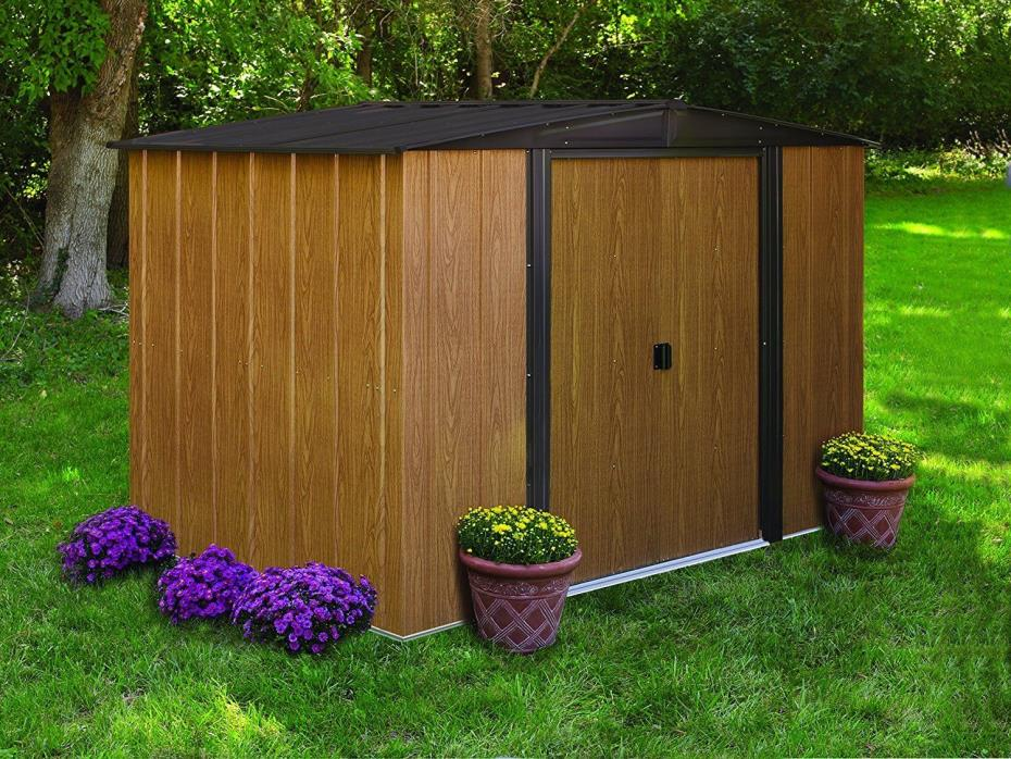 Steel Storage Shed Unit Metal Barns Building Sheds Outdoor Backyard Durable New