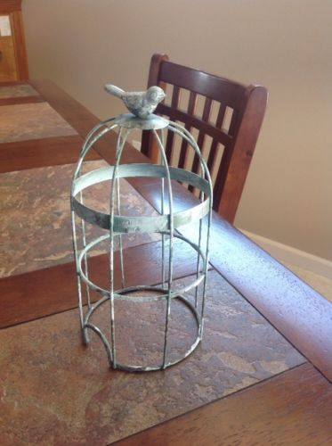 Scentsy Wrap BIRDCAGE for Silhouette Collection Candle Tart Warmer