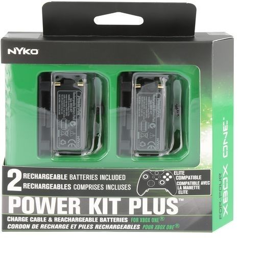 Nyko-Power-Kit-Plus-Xbox-One 2 Rechargeable Batteries