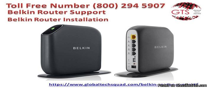 Belkin Router Support USA 1-800-294-5907