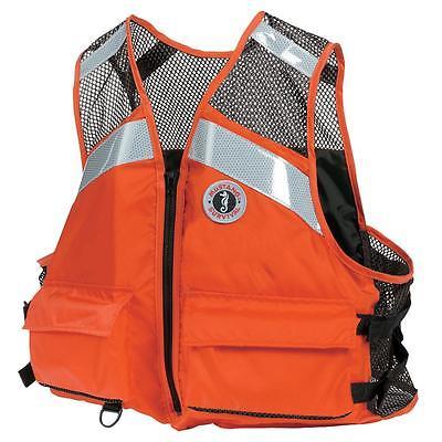 Mustang Industrial Mesh XXL/XXXL Vest (Orange)