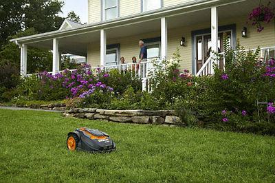 Lawn Mower Robot Landroid Robotic 28-volt Battery Program Grass Tractor