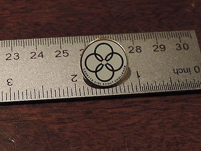 Cadette Girl Scout Challenge Lapel Hat Pin 3C