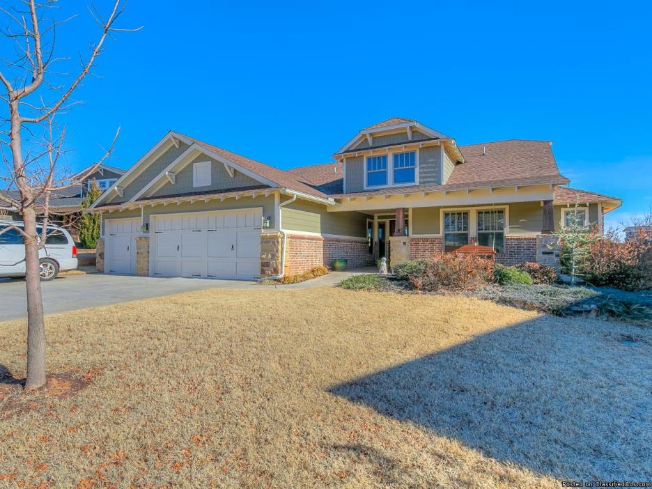 Exquisite home in Arbor Creek of Edmond!