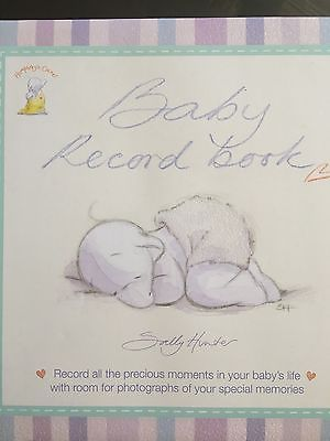 NEW BABY RECORD BOOK by Sally Hunter