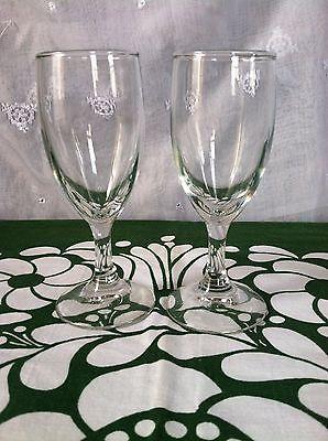 Two Antique Champange Flute/Glasses