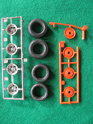 1/25 Hot Rod Drag & Custom parts wheels & tire Monogram's 1937 Ford Street Rod