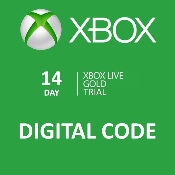 14 day xbox live gold trial membership fast delivery will be emailed