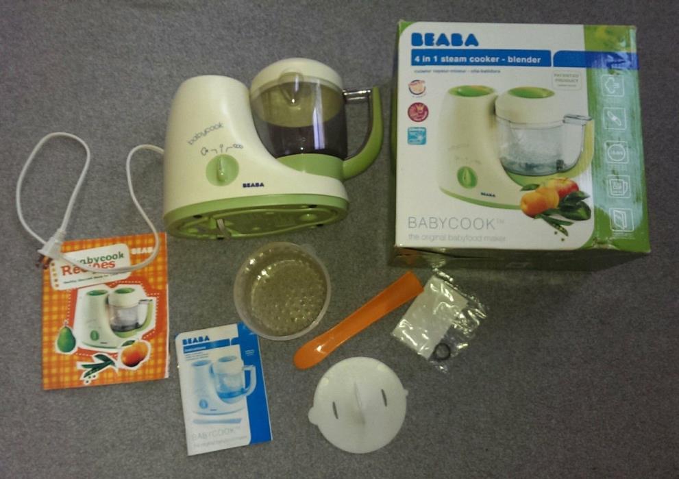 EUC Beaba BabyCook 4 in 1 Steamer Blender