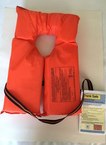 PFD Type II Near Shore Buoyant Vest New With Tags