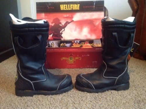 Thorogood Hellfire HV Structural Bunker Boots Size 10 1/2 Wide
