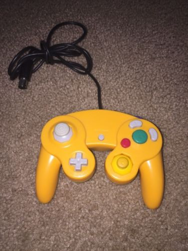 Orange 3rd Party GameCube Controller