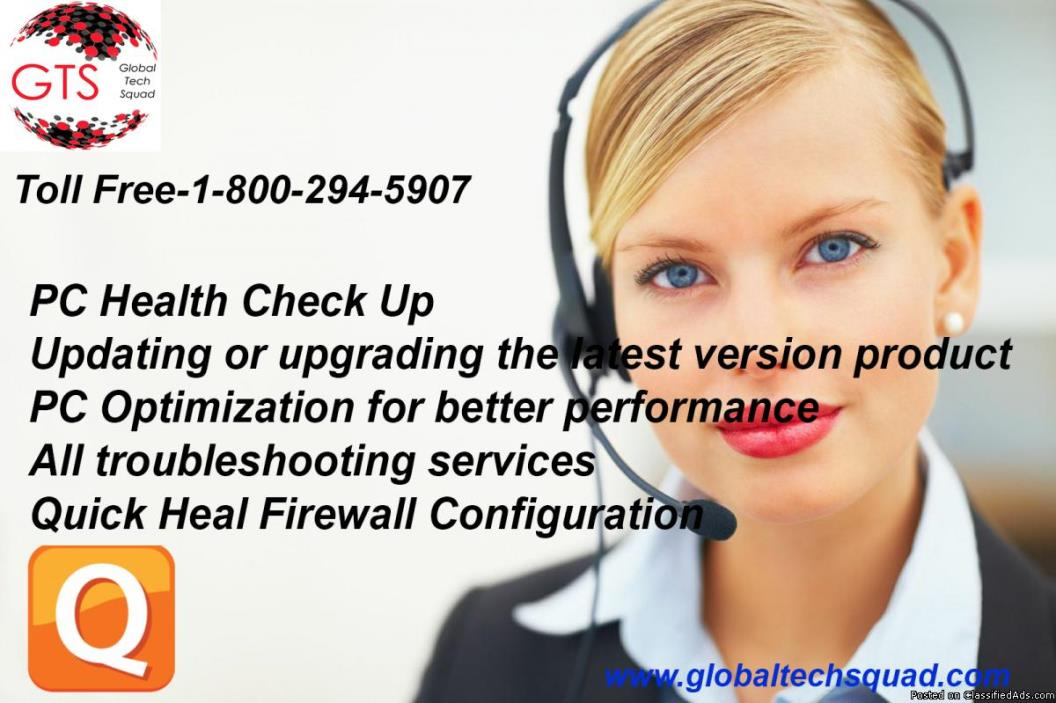Support for Quickheal Antivirus |Call@:- 1-800-294-5907(USA)