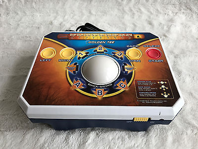 Golden Tee GOLF Video Plug And Play Game JAKKS Pacific Arcade TV ~FULLY TESTED!~