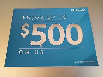 Chase $500 BONUS coupon $300 NEW Checking and $200 Savings Acct Exp. 03/27/2017