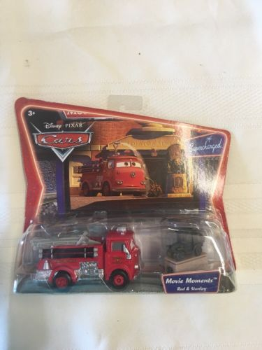 Disney Cars World of Cars Movie Moments RED & STANLEY
