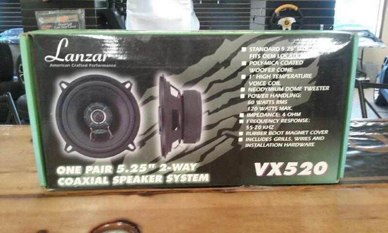 Lanzar VX520 5.25-Inch 2-Way Speakers (MN)