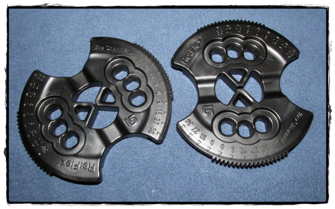 sweet NEW Burton Channel Reflex snowboard binding disc pair - perfect shape!!