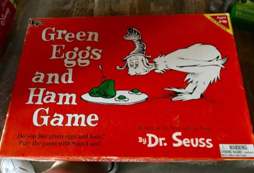 Green Eggs and Ham Board Game - Dr. Seuss - University Games