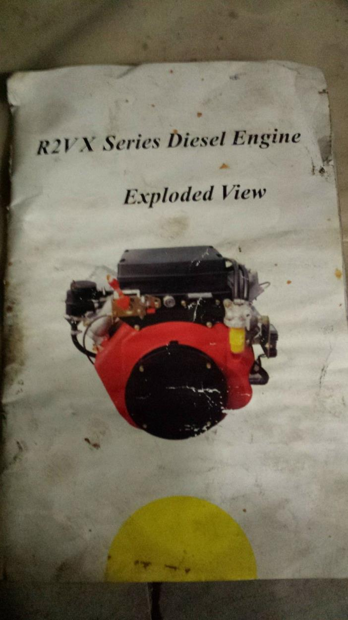 Twin cylinder diesel air cooled