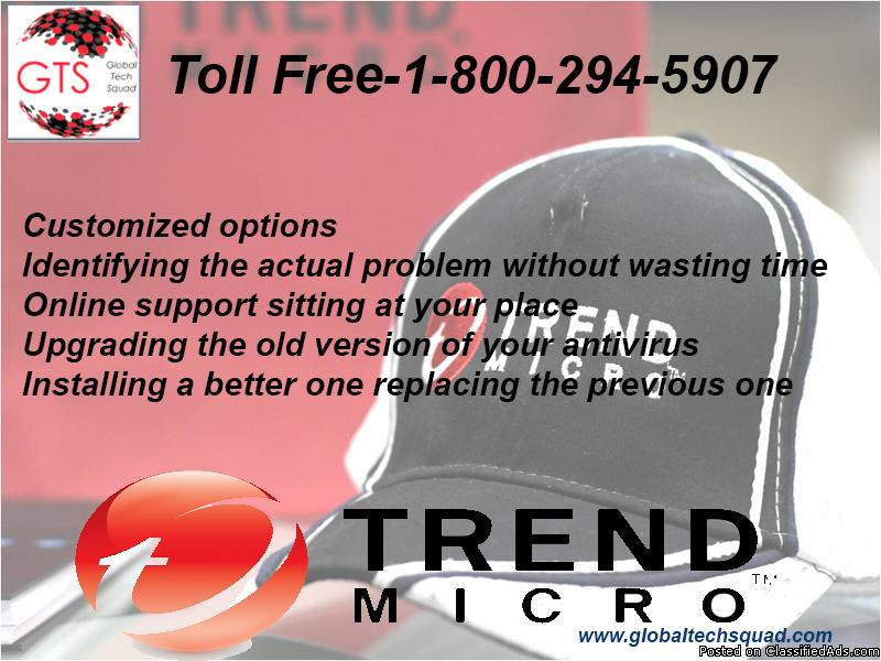 Trend Micro Antivirus Support | Call@:-1-800-294-5907(USA)