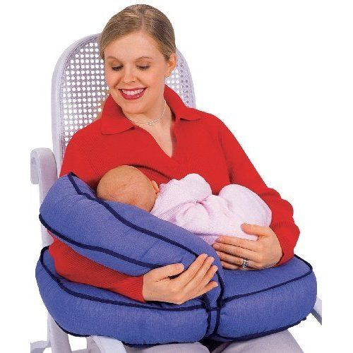 Nursing Pillow Adjustable Portable Tummy Time Feeding Support Natural Boost Set