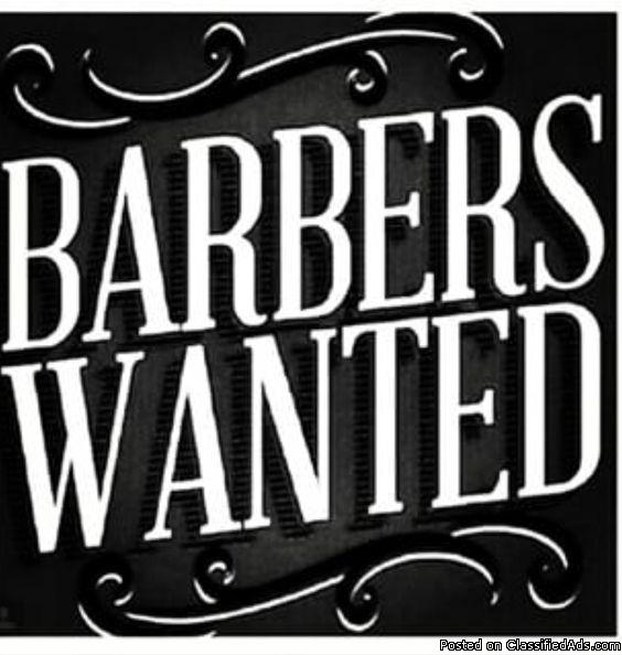 Now Hiring experienced  Barber/Hair stylist