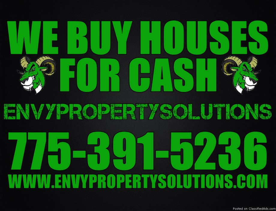 ***We Will Buy Any House & Pay Cash!***