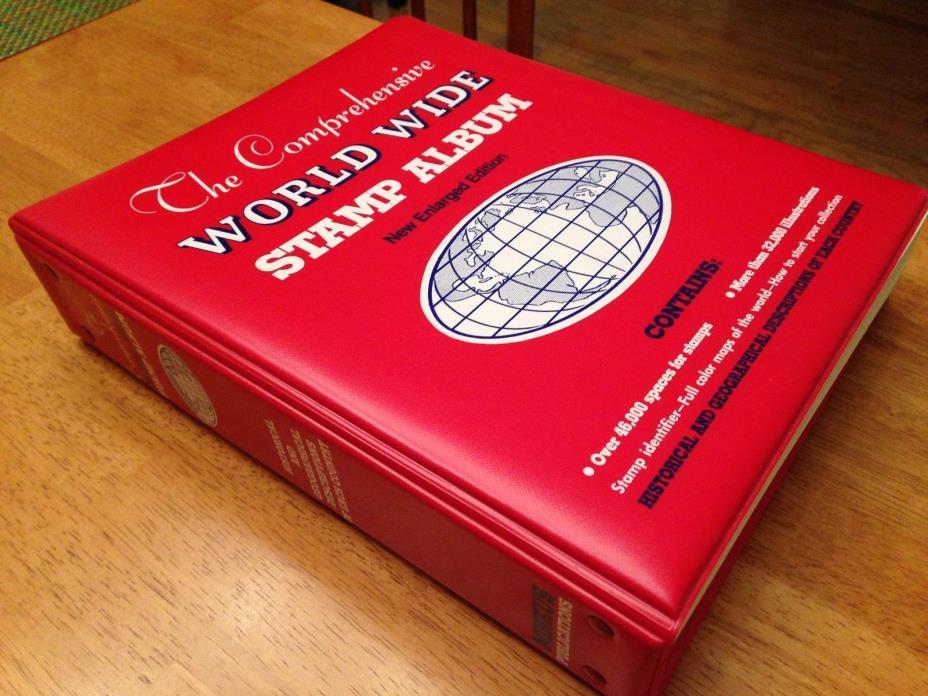 1982 Minkus Comprehensive World Wide Stamp Album A-Z Complete Looks Unused! |