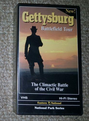 Gettysburg Battlefield Tour Vhs Civil War