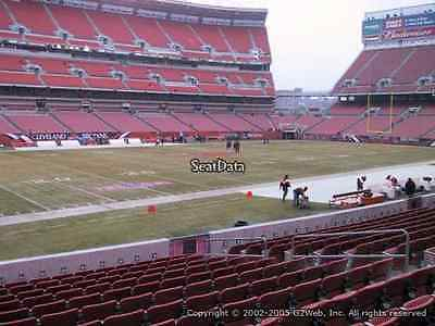 Cleveland Browns PSL'S lower bowl Sec 130 row 16, rights to buy tickets