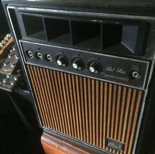 Vintage teisco guitar amp