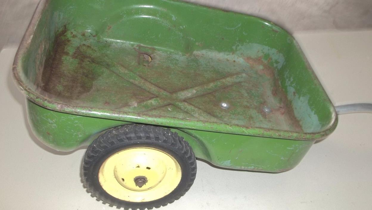 Vintage John Deere Wagon for Pedal Tractor