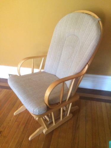 Vintage Glider Rocker Rocking Chair